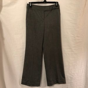 Ann Taylor LOFT 4 Trousers Gray Wool Career 1035
